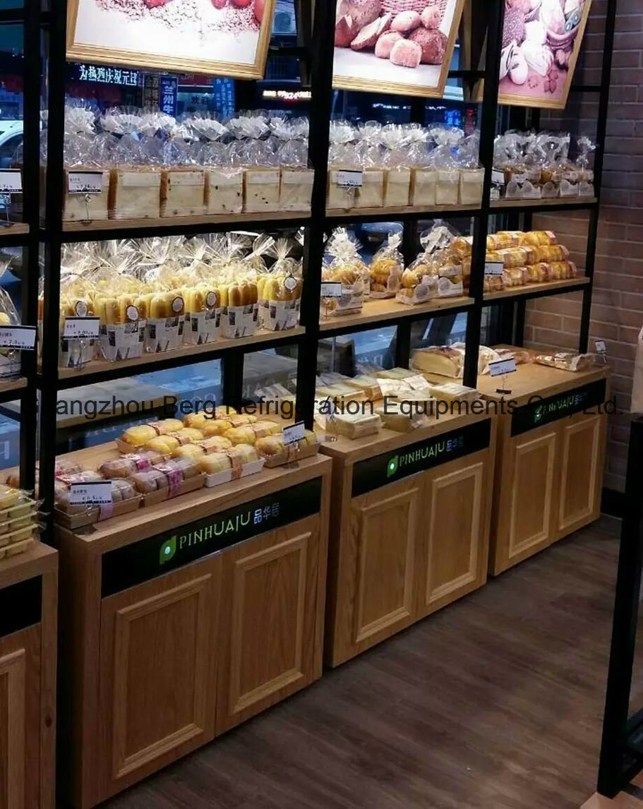Bakery Display Cabinet China New Product Wooden Bread Display Cabinet Bakery Showcase For
