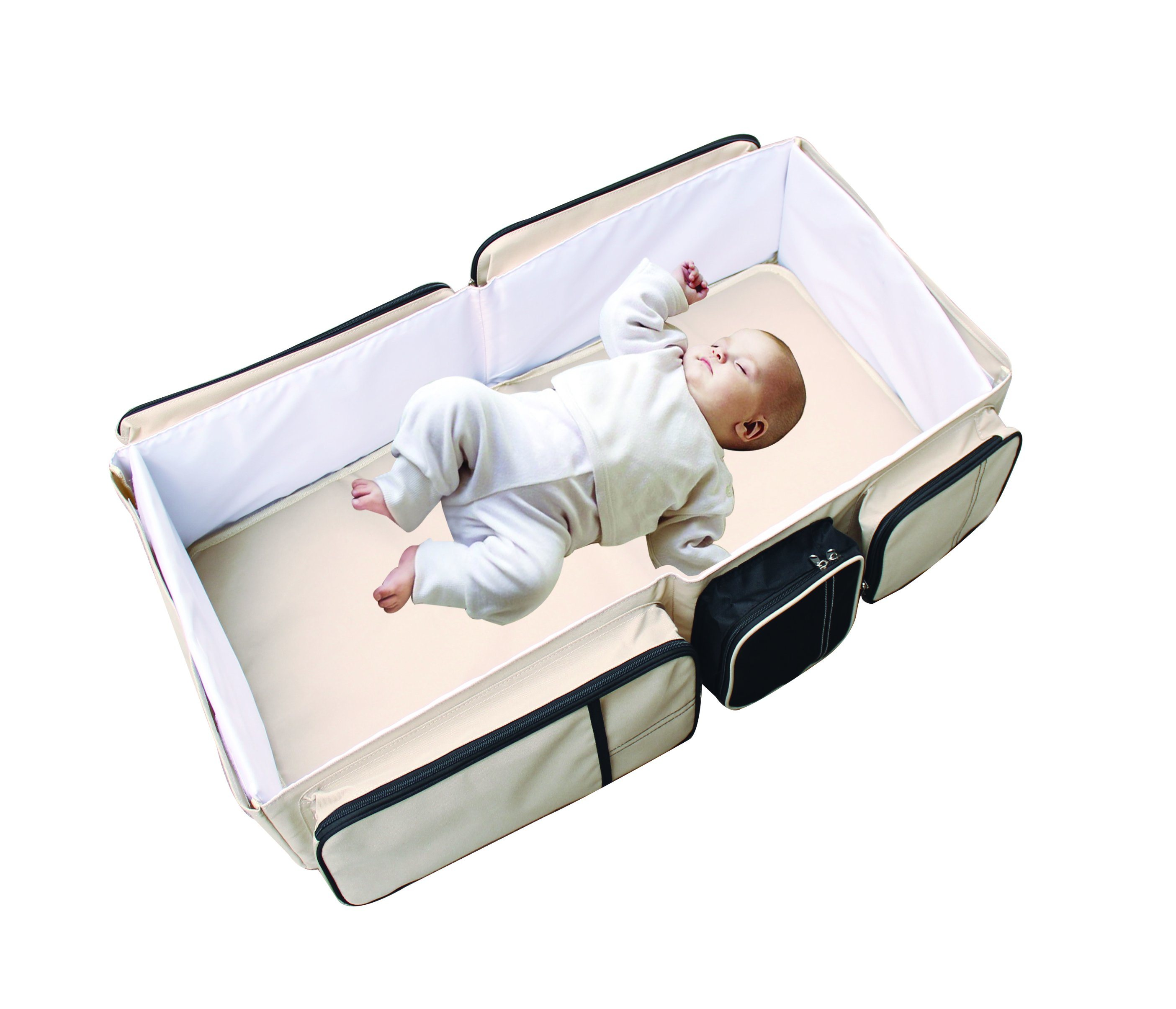 Baby Travel Mattress Hot Item 2 In1 Portable Crib Baby Bag Collapsible Variable Package Multifunctional Baby Travel Bag Bed Folding Bed Anti Mosquito Insulation Game