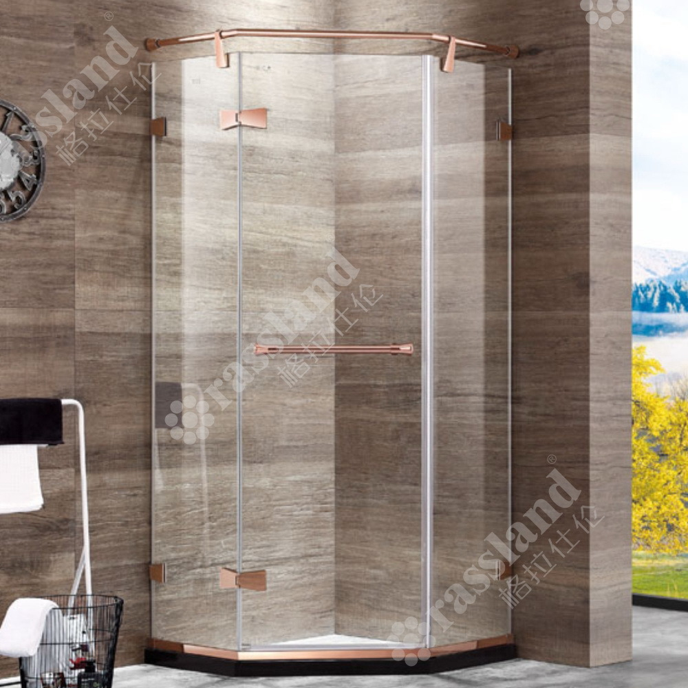 China G05z21l Wholesale Customized Competitive Price Tempered Glass Hotel Bathroom Shower Room China Shower Enclosure Shower Room