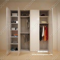 China Customized Wooden Bedroom Wardrobe with Casement ...
