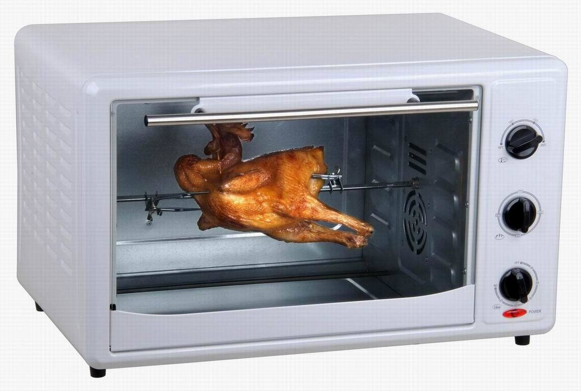 Countertop Rotisserie Ovens China 45l Electric Rotisserie And Convection Toaster Oven