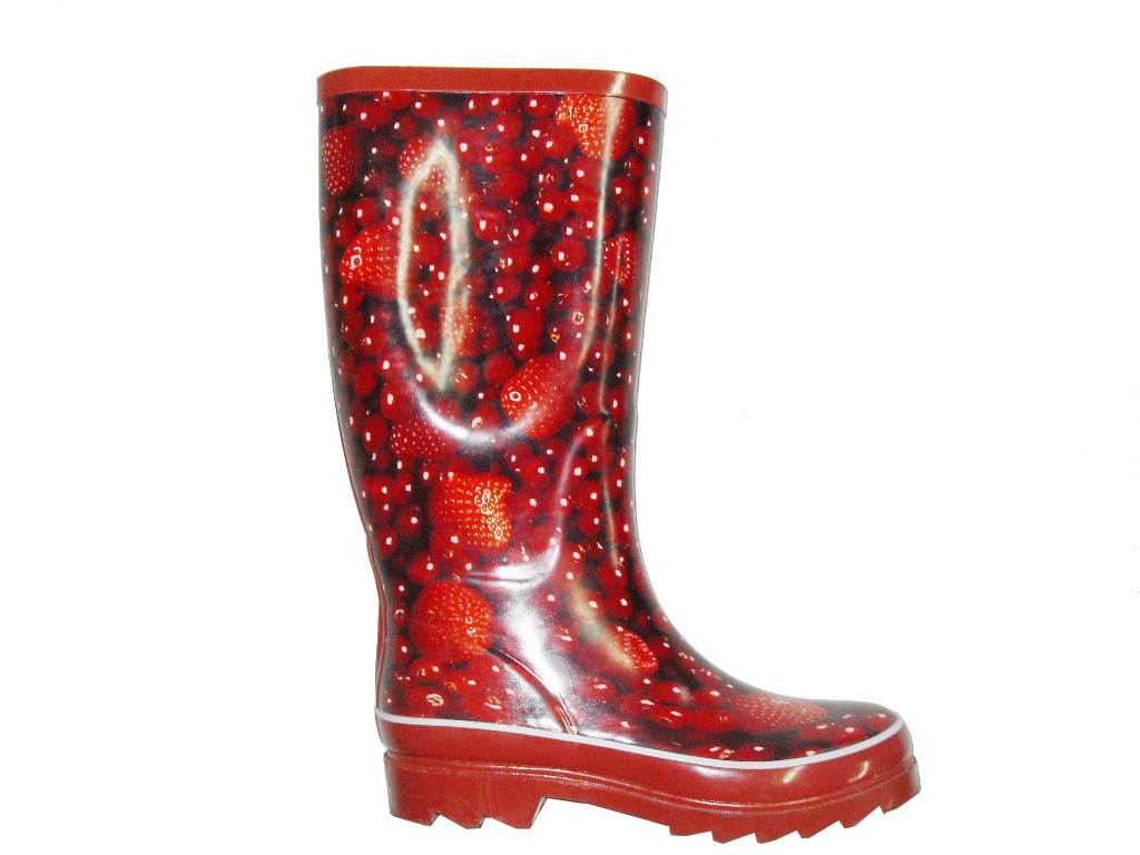 Womens Rubber Boots New Orange Womens Rubber Boots
