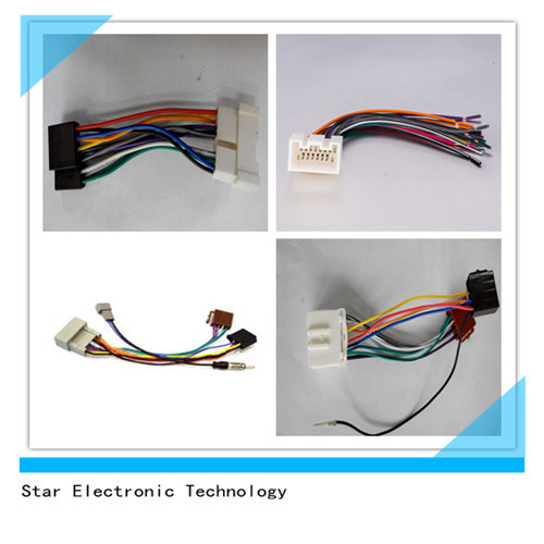 China Manufacture of Car Radio Audio ISO Wire Harness Connectors