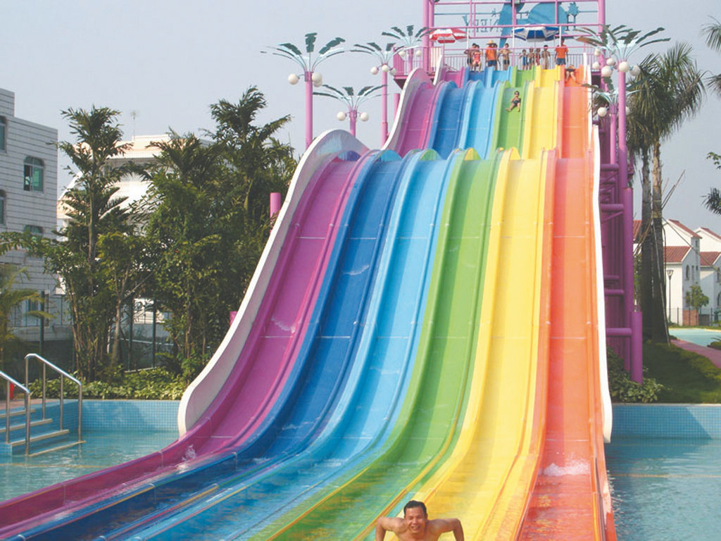 3d Wallpaper For Home Wall Bangalore China Racing Rainbow Slide For Waterpark Hzq 02 China