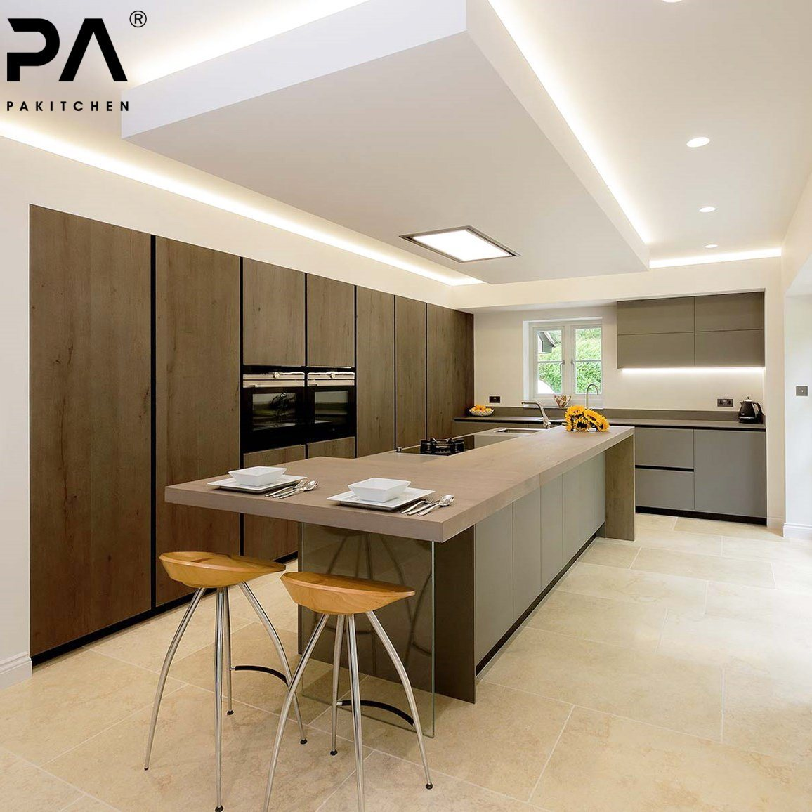 Modern Kitchen Design With Price Kitchen Factory Outlet Discontinued Price New Model Luxury Italian