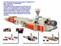 China PVC Pipe Production Line - China Pipe Production ...