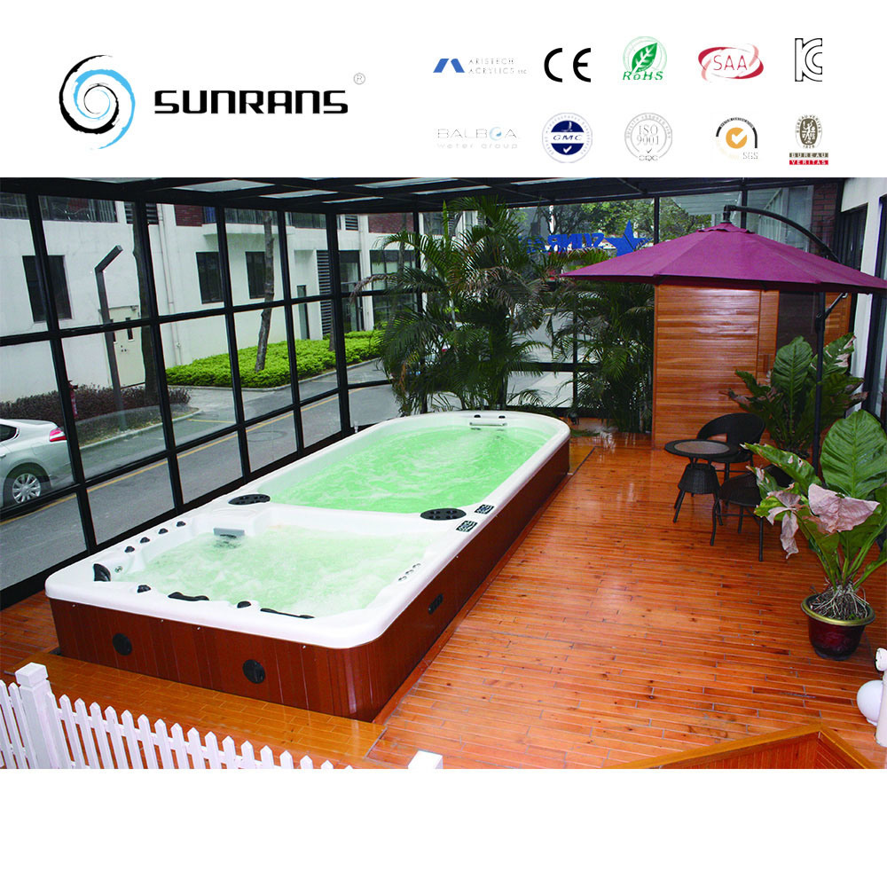 Jacuzzi Endless Pool China Outdoor Acrylic Pool Indoor Swim Spa Endless Pool