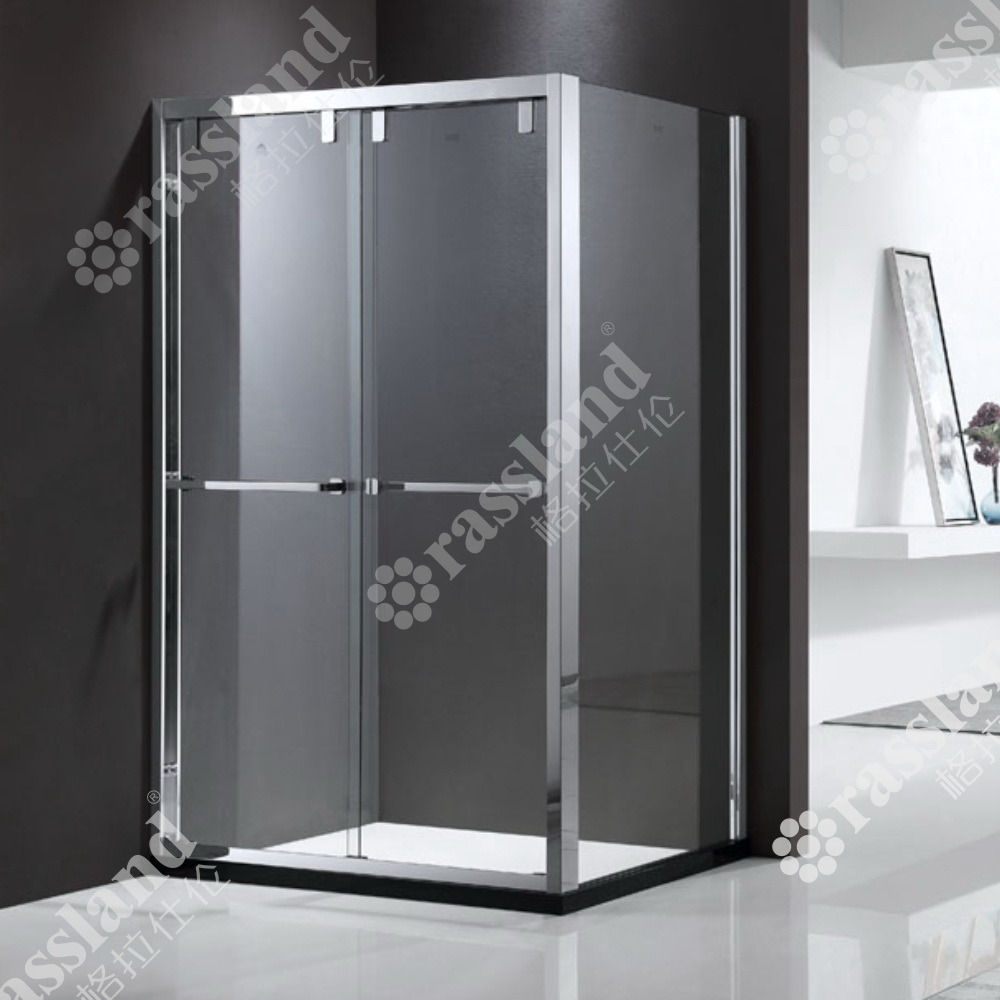 China G68f12l Wholesale Customized Competitive Price Tempered Glass Hotel Bathroom Shower Room China Shower Enclosure Shower Room