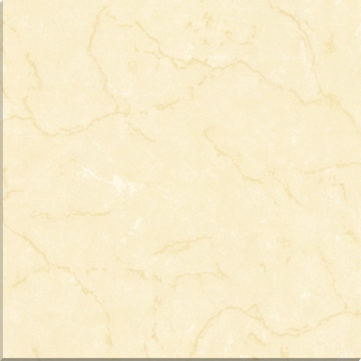 China Mono White Colour Polished Porcelain Floor Tile In