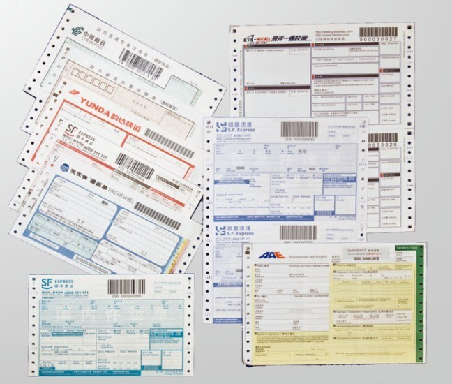 China Consignment Note - China Consignment Note, Express Mail Note/Bill