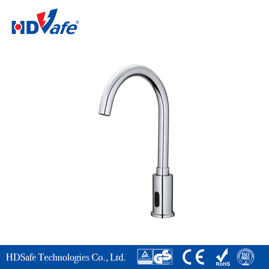 Manufacturer Factory Faucets China Factory Easy Installation Sensor Electric Water Tab Auto Tap Faucet Manufacturer Supply