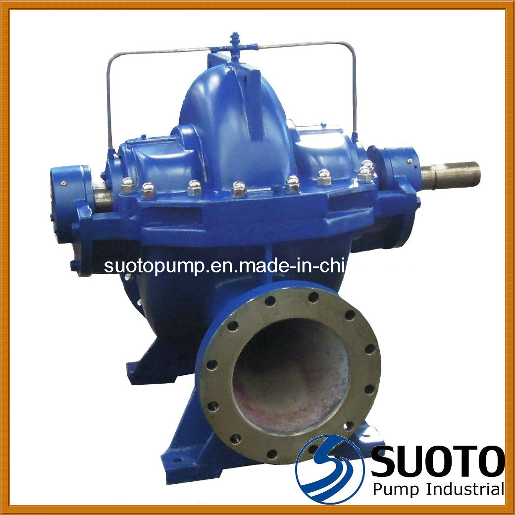 Pump Water Hot Item Horizontal Single Stage Double Suction Split Casing Case Pump Centrifugal Pump Water Pump High Flow Pump Volute Casing Pump Fire