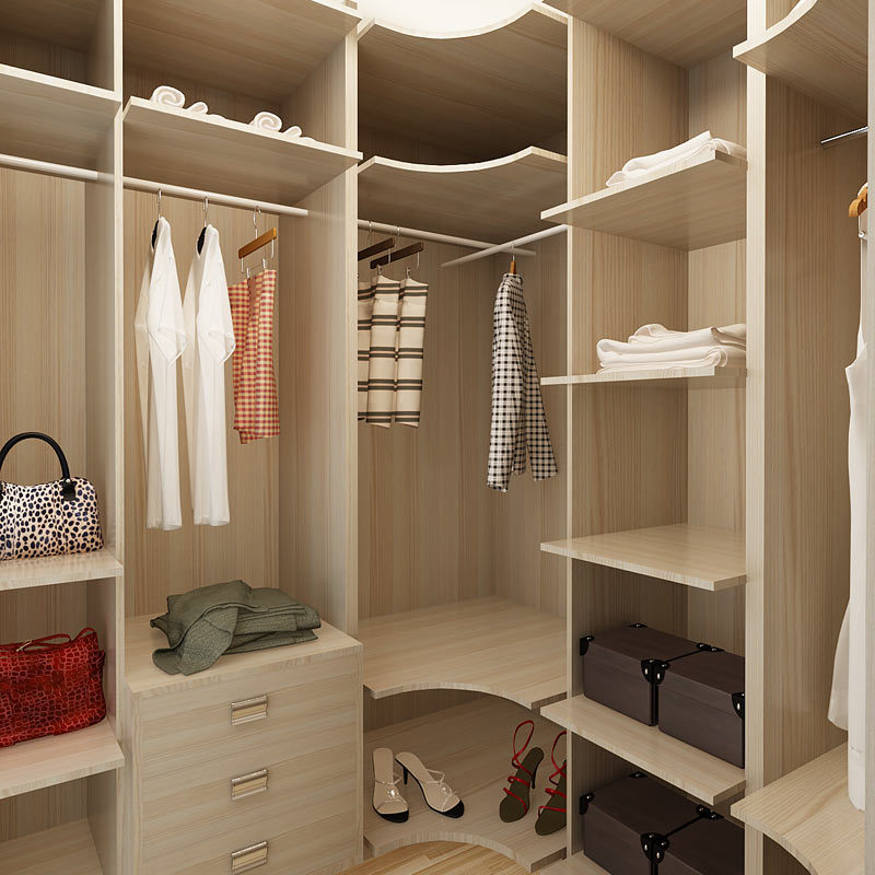 China Australia Project Melamine Wood Storage Bedroom