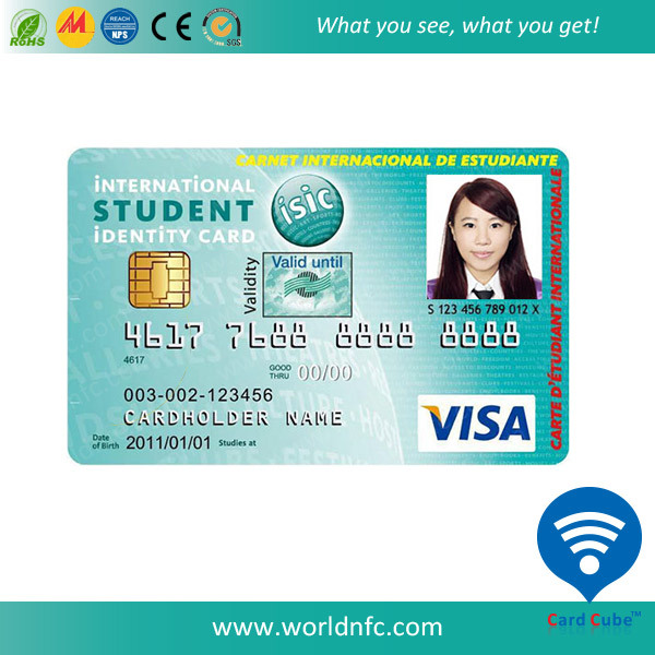 China Supplier PVC Photo ID Card Employees Card School Student Card