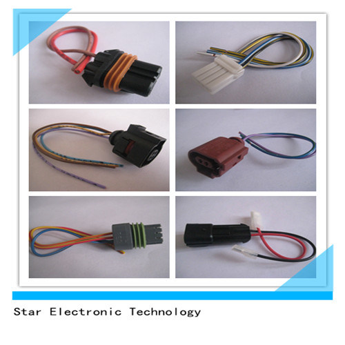 China Factory 2 Pin 3 Pin Plastic Electrical Automotive Wiring