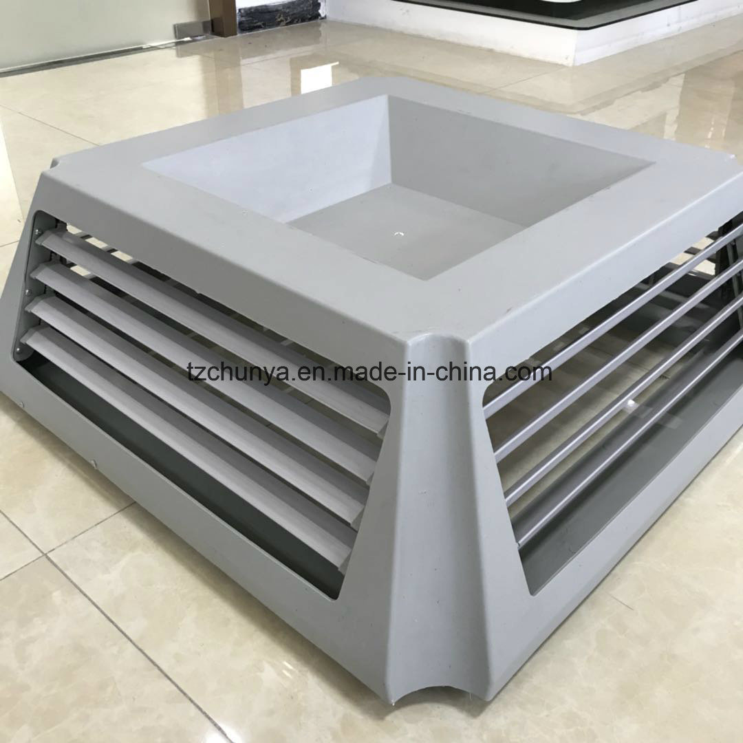 China Evaporative Air Cooler Diffuser With 4 Air Outlet China Air Cooler Duct Wind Duct
