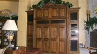 China Country Style Kitchen Cabinet (KC06) - China Solid ...