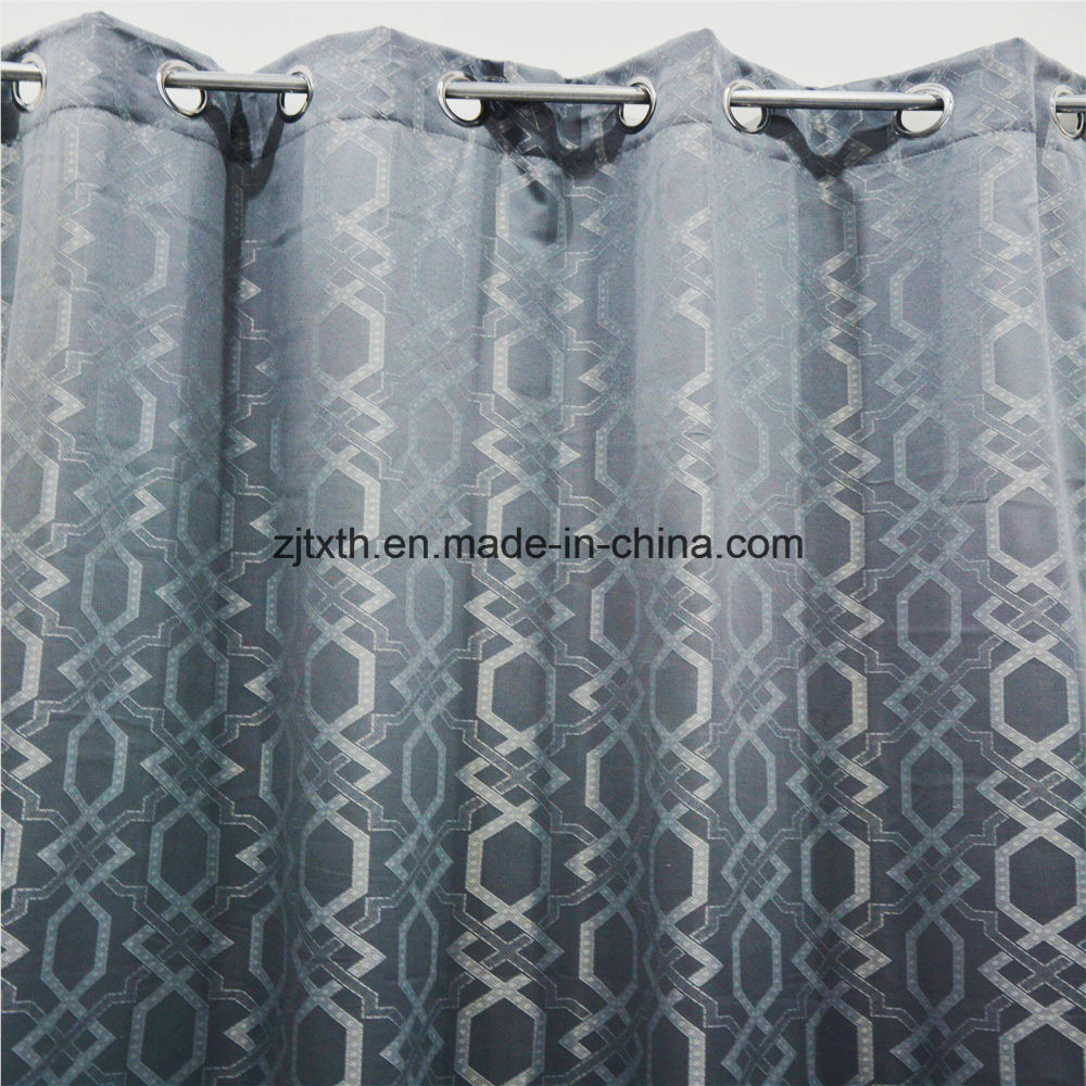 China Blue Curtains Hot Item 100 Polyester Fireproof Fabrics Wholesale Curtains For Room