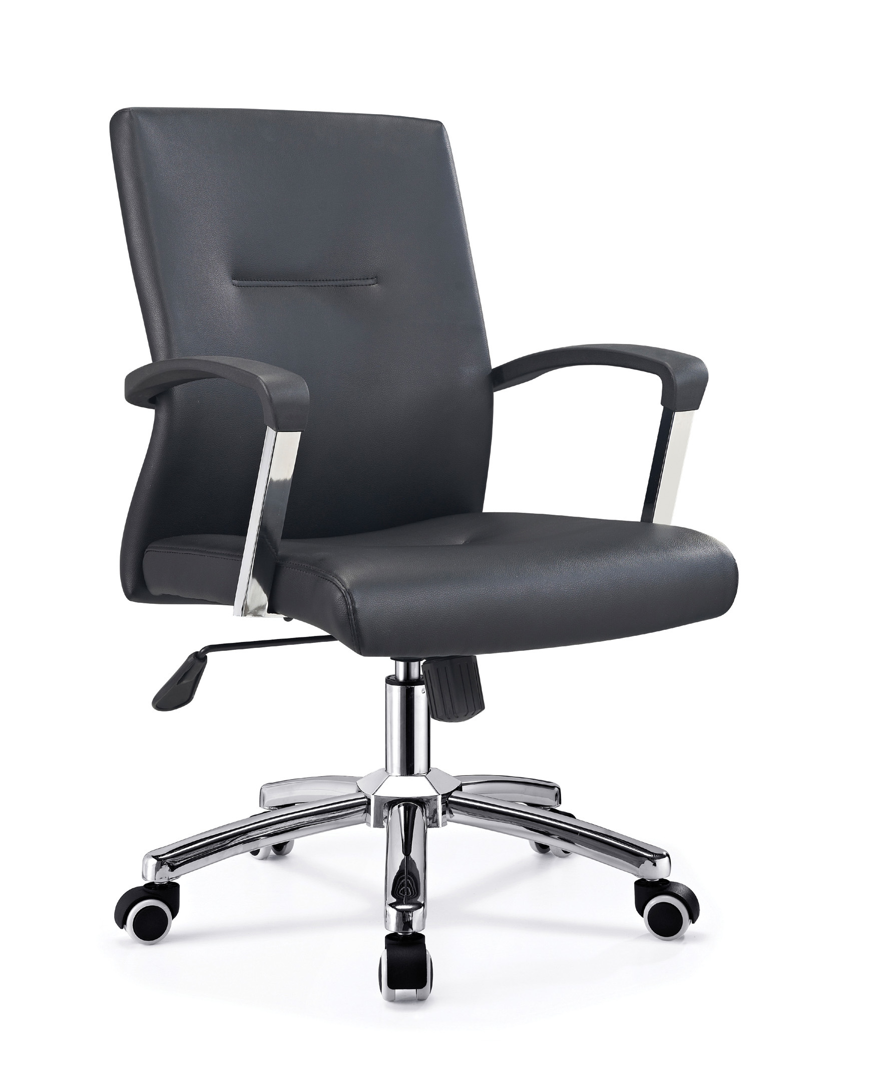 Chinese Modern Office Furniture Chairs Armchair Leather Guest Computer Chair B647 China Office Chair Swivel Chair