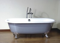 China Freestanding Cast Iron Bathtub (BGL-80-1) - China ...