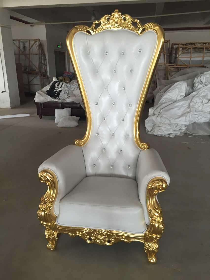 Sofa King Queen Hot Item Hotel Furniture Antique King Queen Chair With High Back Dining Chair Throne Sofa
