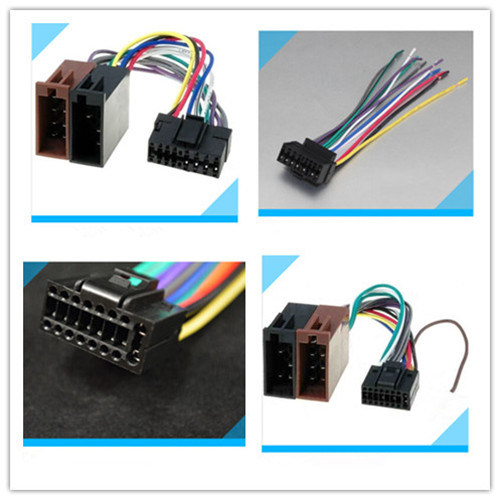 China Jvc CD Player Wiring Harness Loom 16 Pin - China Wiring