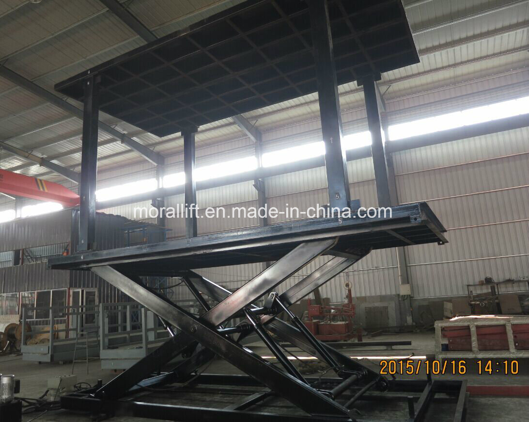 Car Lift To Basement Garage China Basement Garage Invisible Scissor Car Lift Photos Pictures
