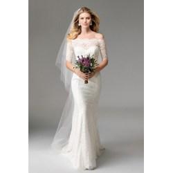 Small Crop Of Off Shoulder Wedding Dress