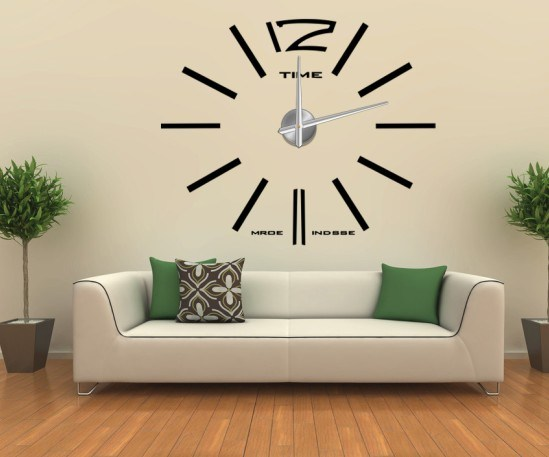 home decor wall sticker big wall clock wall sticker decor beautiful wall sticker decoration