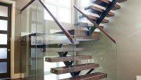 China Modern Design Steel Beam Stringer Open Staircase ...