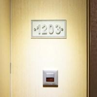 China Custom Hotel Room Door Sign Hotel Room Number Signs ...