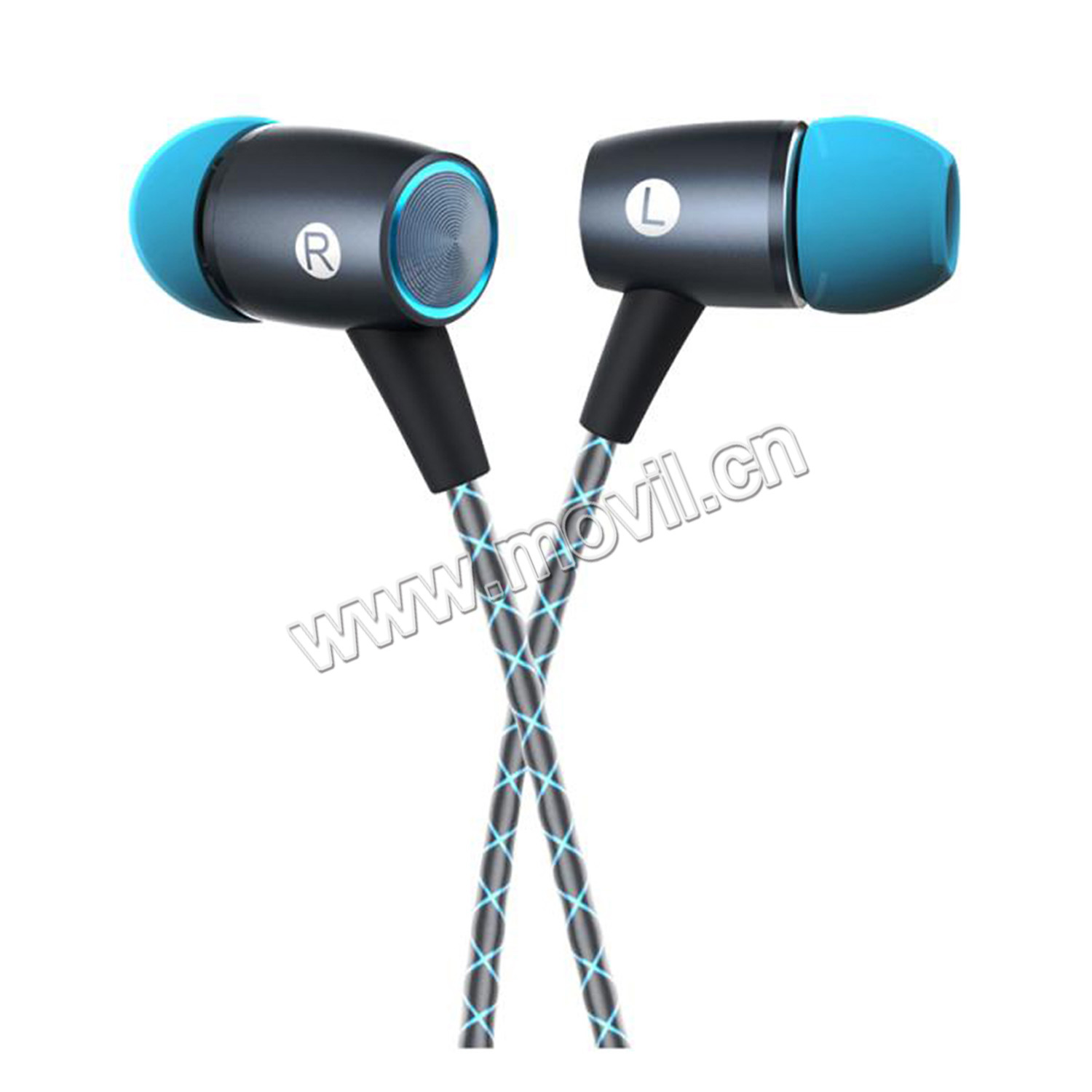 Auriculares Manos Libres Movil China Earphone Original Huawei Am12 Gris Auriculares Manos Libres