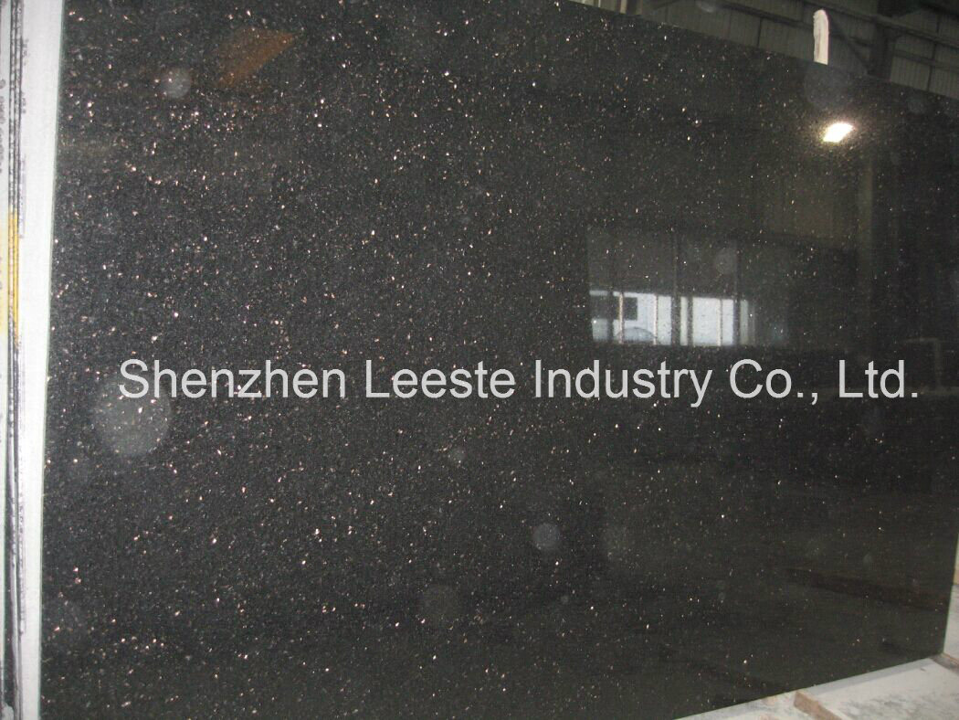 Fullsize Of Black Galaxy Granite