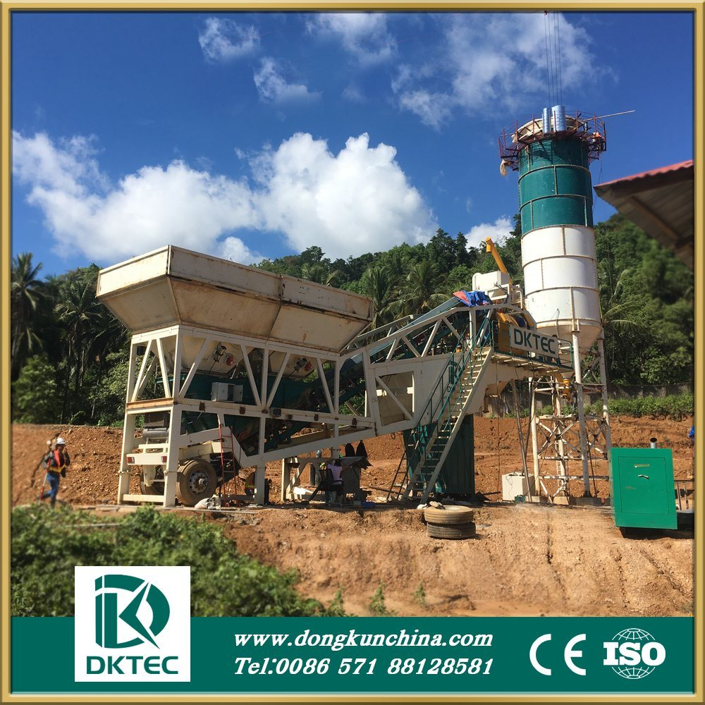 Cement Beton Hot Item Mobile Cement Beton Mixing Plant With Capacity Of 75m3 H