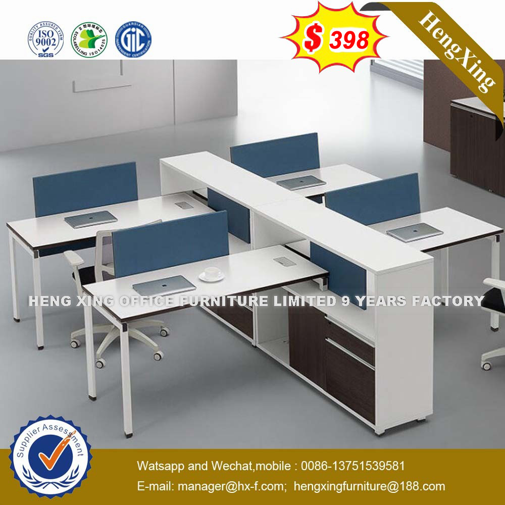 Workstation Furniture Hot Item Guangdong Standing Workstation Table Oak Color Office Furniture Desk Workstation Hx 8n0562
