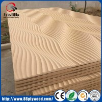 China Decorative TV Wall 3D MDF Wall Panel Wall Covering ...