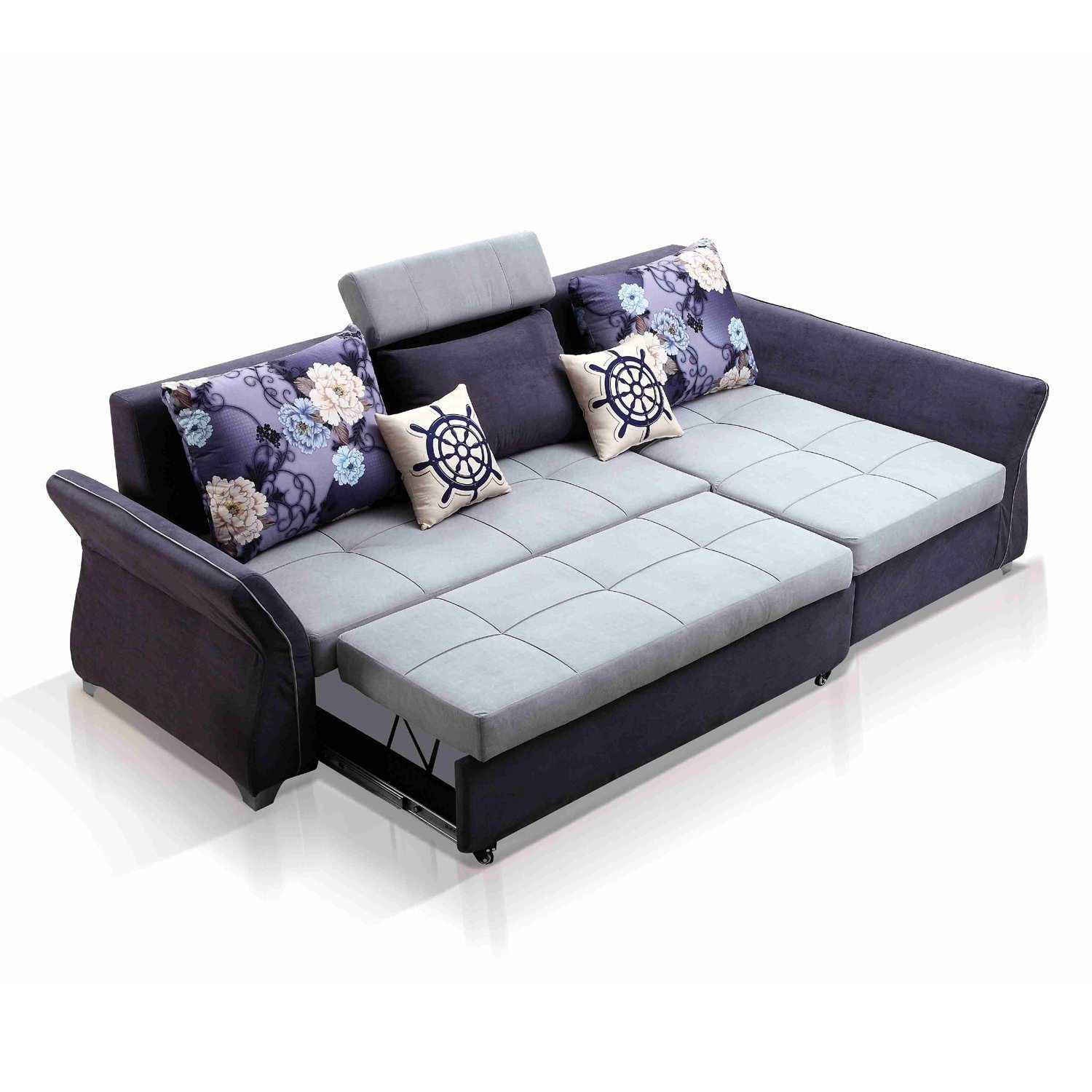 L Sofa Hot Item L Shaped Sectional Sofa Cum Bed With Storage