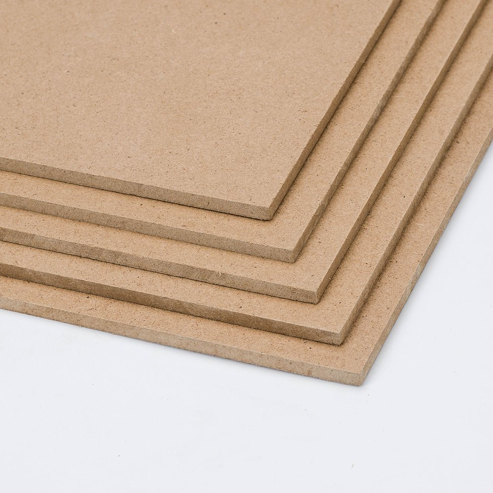 Mdf Panel Hot Item High Gloss Melamine Paper Mdf Panel Raw Hdf For Decoration