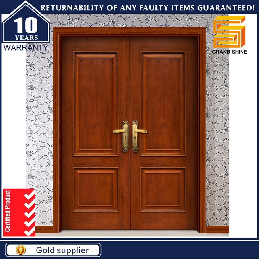 Dayar wooden front door hpd458 solid wood doors al habib panel - Al Habib Panel Doors Main Solid Double Door Hpd326 Main Doors Al Habib Panel Doors