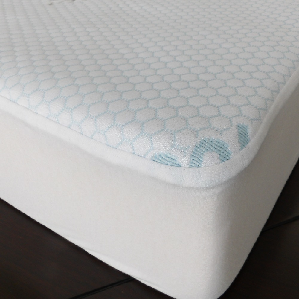 Bed Bugs Mattress Cover Hot Item Wholesale From China Polyester Cooling Waterproof Fabric Bed Bug Mattress Cover