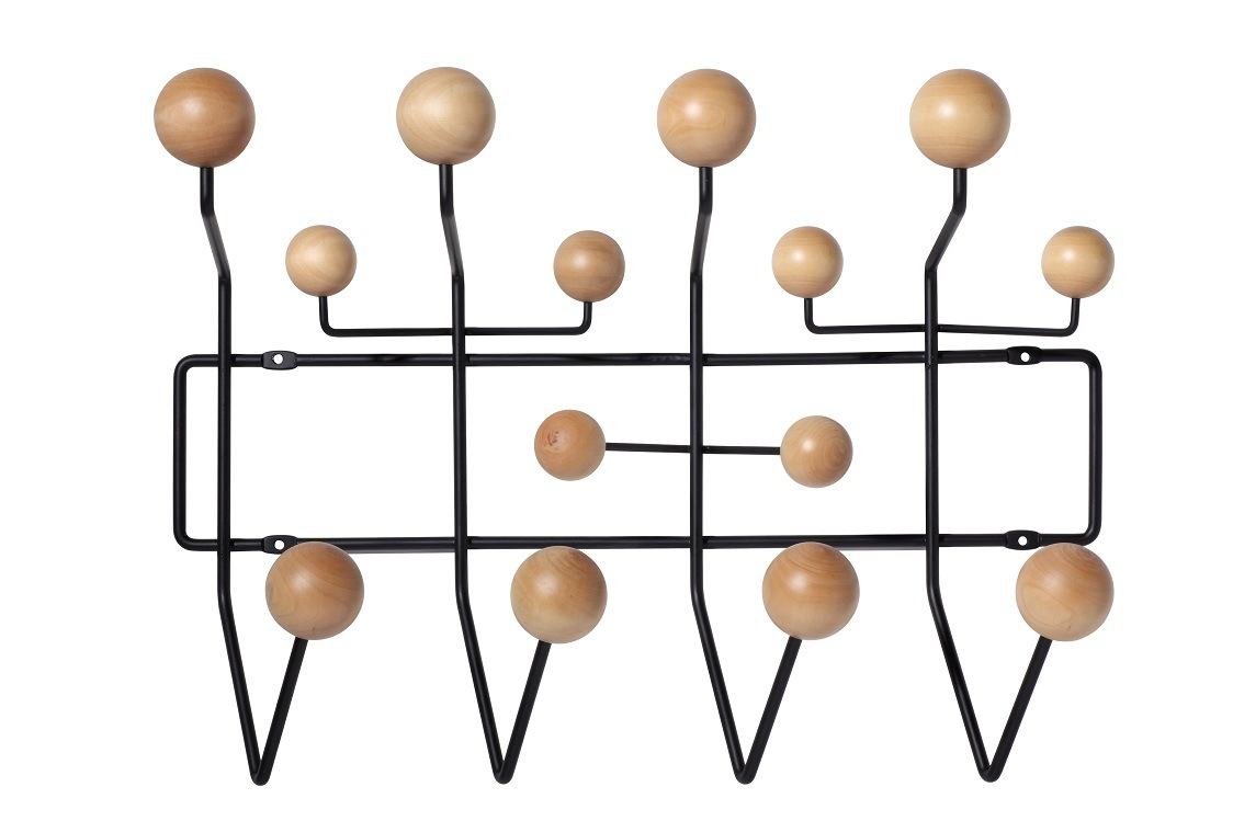 China Eames Hang It All Wall Iron Wood Ball Hooks China Pu Painted Balls And Full Color Price