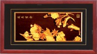 China 24k Genuine Gold Foil Painting - China Gold Gift ...