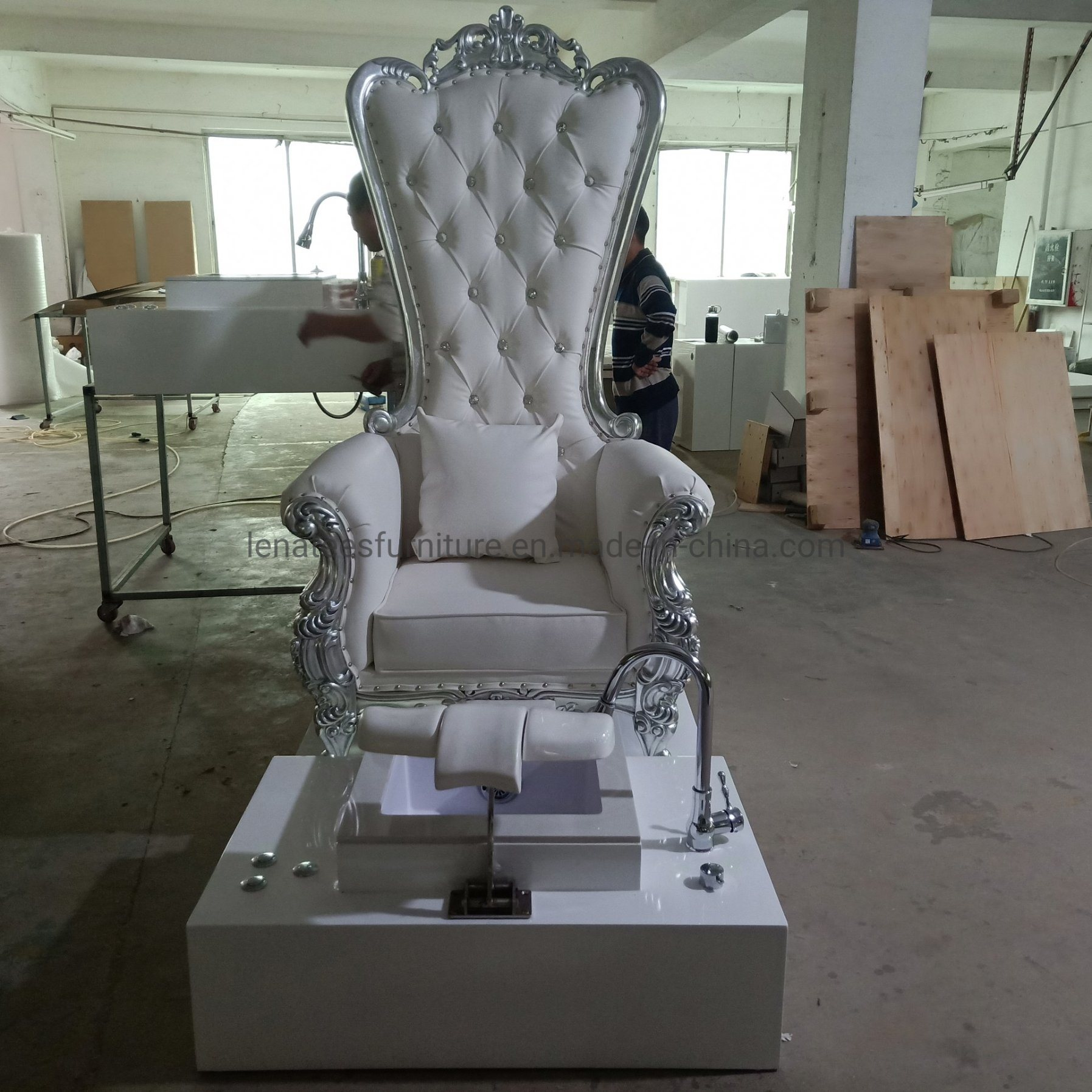 China Fp003 Factory Custom Made Jacuzzi Pedicure Chair Nail Beauty Salon Furniture Photos Pictures Made In China Com