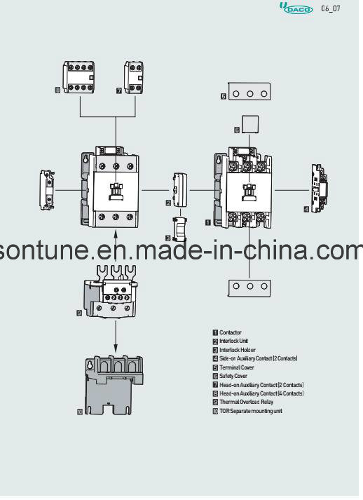 Cjx2 Contactor Wiring Diagram Single Phase Reversing Contactor