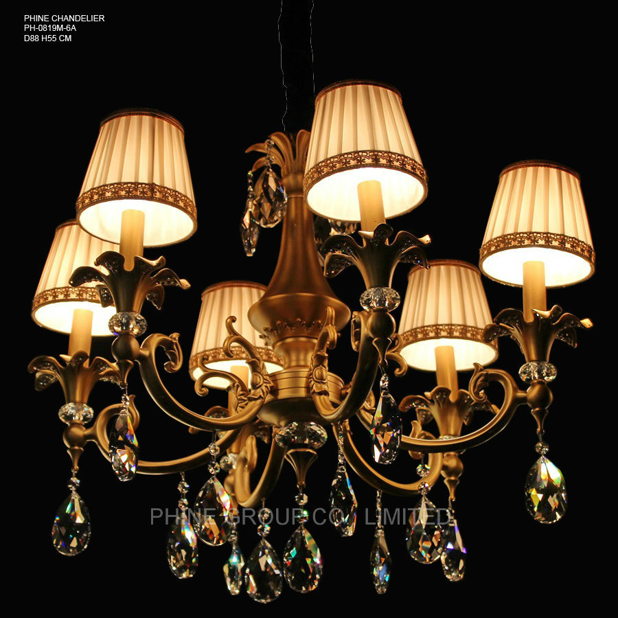 Modern Lighting Quotes Hot Item Phine Ph 0819m 6 Arms Modern Swarovski Crystal Decoration Pendant Lighting Fixture Lamp Chandelier Light