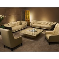 China High Quality Living Room Leather Sofa (B1) Photos ...