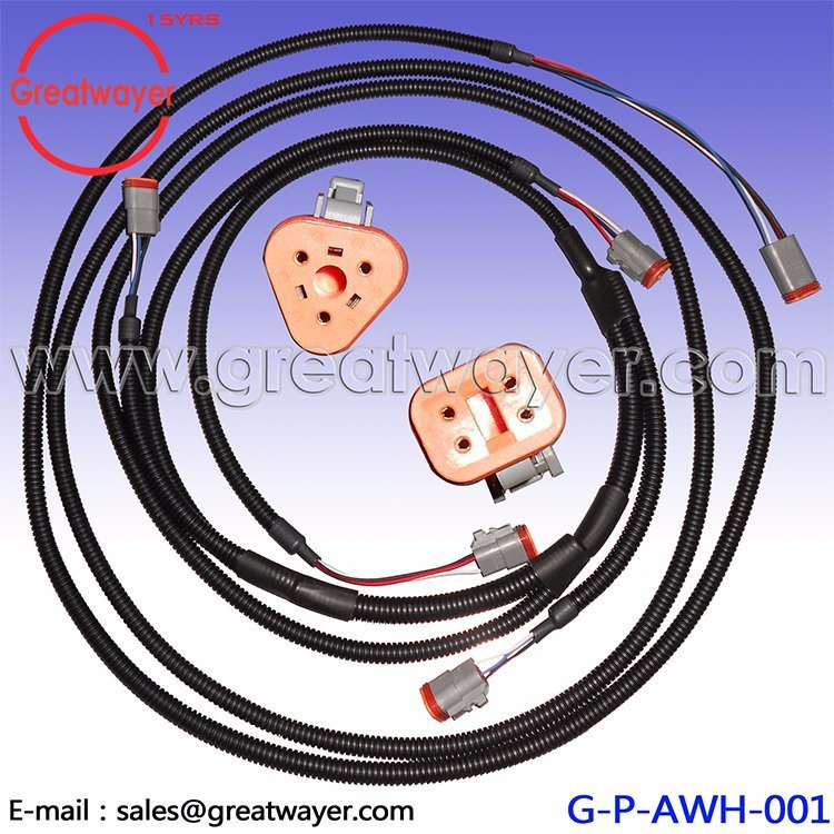 China 4 Pin Connector Deutsch Loom Light Wiring Harness - China