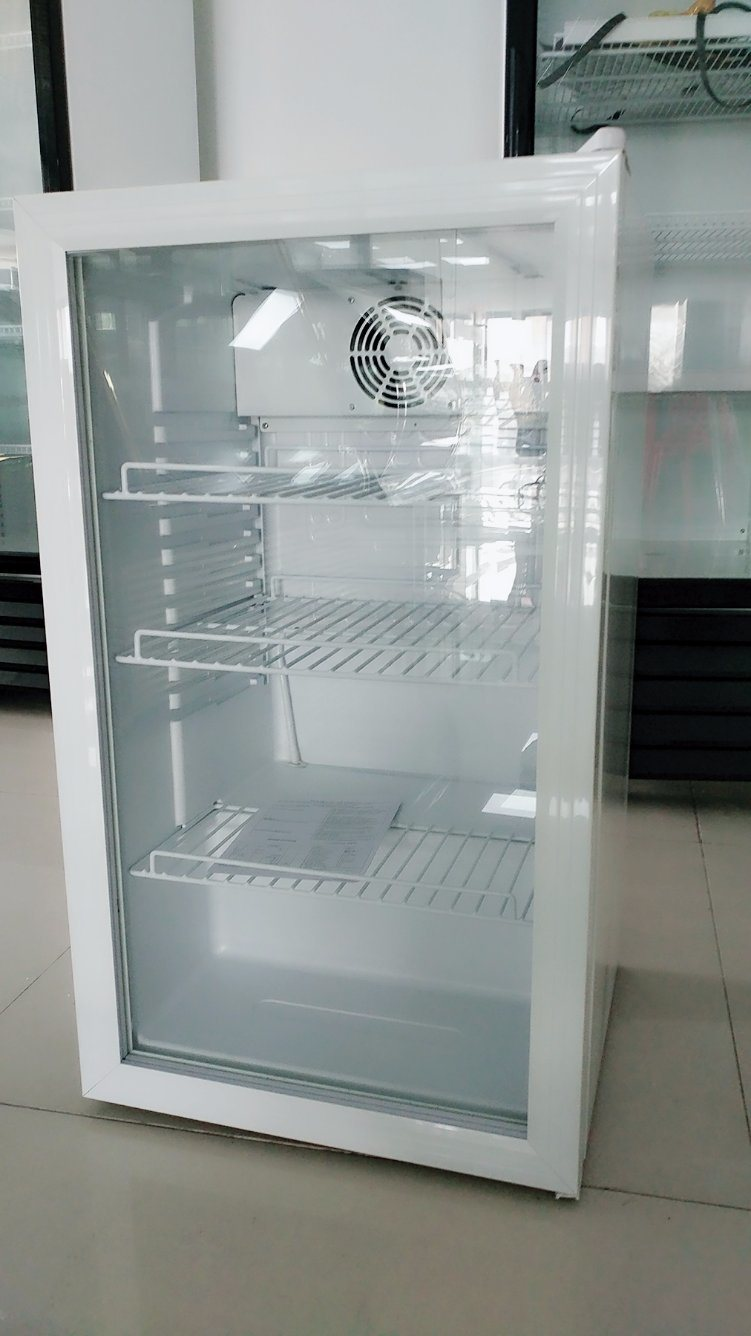Frigo Porte Transparente Bar Mini Display Réfrigérateur Mini Frigo Porte Transparent Fût De