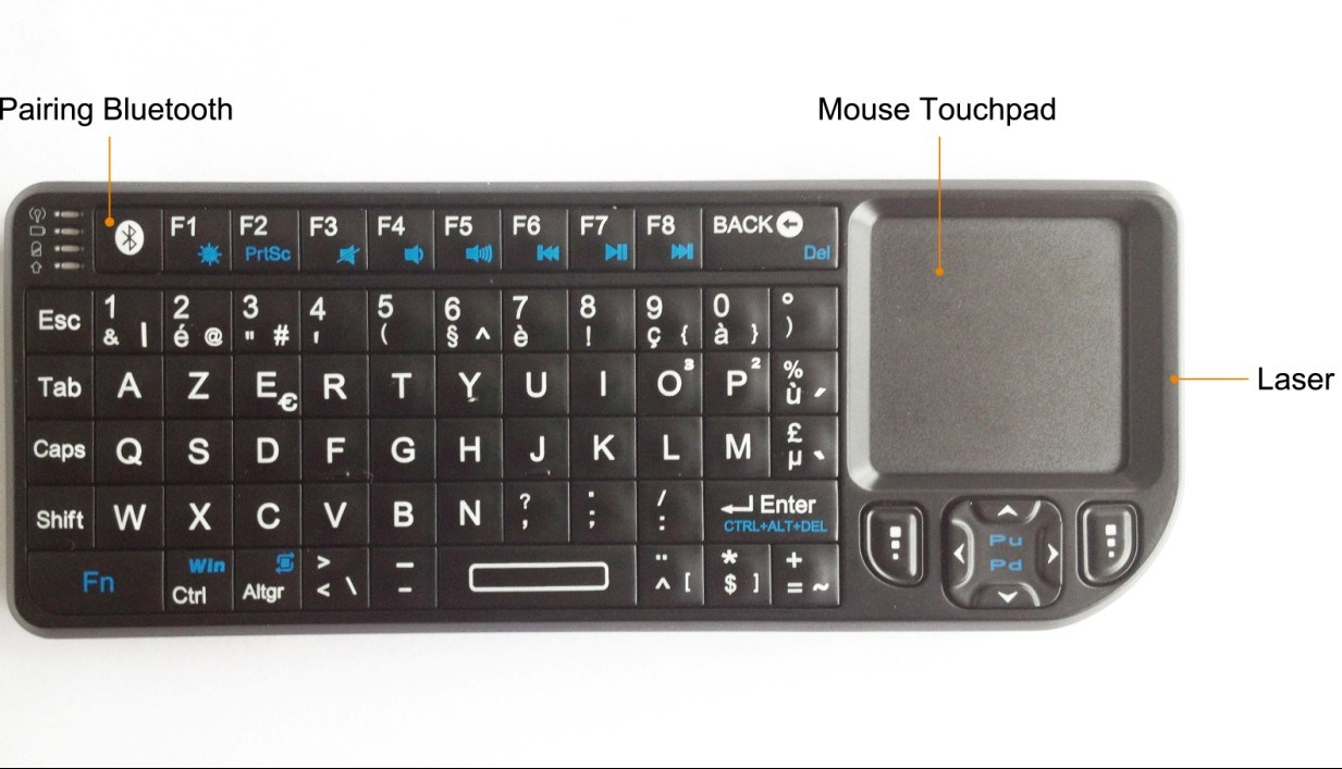 Store Banne Coffre Complet Telephone Clavier Azerty
