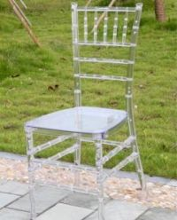 China Acrylic Clear Tiffany Chair (ZJY-001C) - China ...